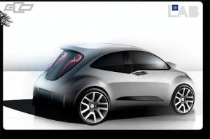 Ескіз нового хетчбека Chevrolet