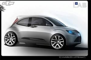 Нова модель дводверного хетчбека Chevrolet